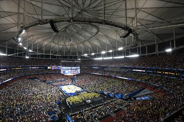 74,326 Fans Descended On The Georgia Dome For Last Year's Championship Game. A Move Back To NBA Arenas For The Final Four Would Significantly Diminish That Attendance Figure, But The Benefits Could Easily Outweigh The Costs.