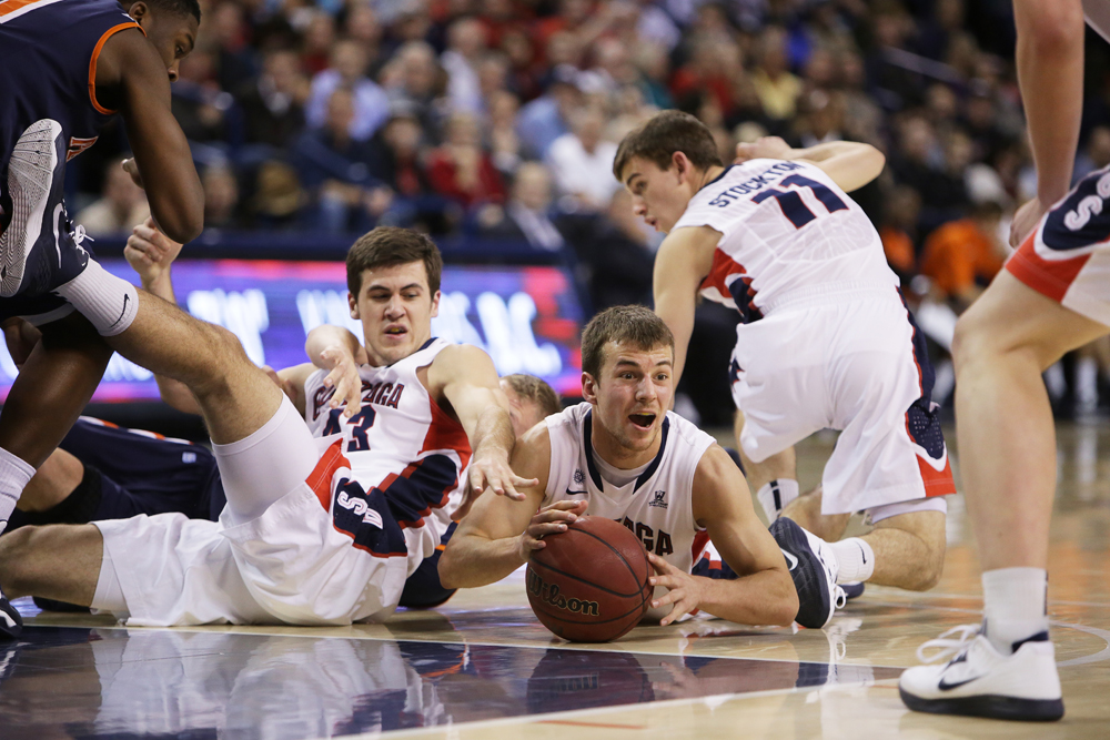 Gonzaga could be the WCC's only representative in the NCAA Tournament. (Young Kwak, The Pacific Northwest Inlander)