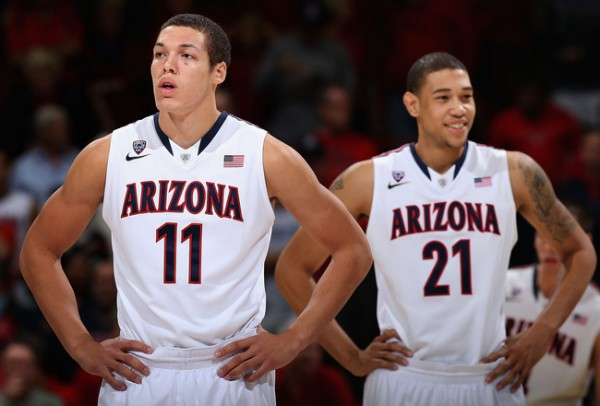 Versatile Bigs Aaron Gordon And Brandon Ashley Make Arizona's Defense Stout (Christian Petersen, Getty Images)