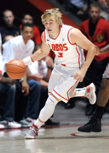 Hugh Greenwood Making Big-Time Plays In Clutch Situations Is No Surprise ((Jim Thompson/Albuquerque Journal)