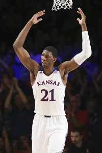 Can the Jayhawks get past New Mexico in the second round if they'll need to do so without Joel Embiid? (USA Today)