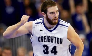 Ethan Wragge had a game to remember against Villanova. (AP)
