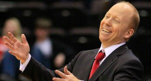Mick Cronin has his Bearcats off to a 3-0 start in AAC play. (AP photo)