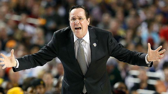 It's clear Marshall wants Kansas and Wichita State to play each other (Getty Images).