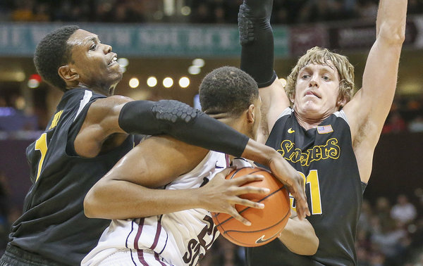 Cleanthony Early and Ron Baker bottled up Missouri State in the second half of their overtime win (Wichita Eagle, www.kansas.com).
