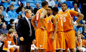 Rick Barnes has coached himself back into the Texas job this season. I'm sure I could have phrased that better. (Grant Halverson/Getty Images)