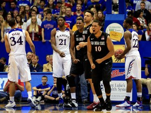 San Diego State Seized One Of The Signature Victories Of The Season, And Steve Fisher's Tenure, Sunday At Allen Fieldhouse