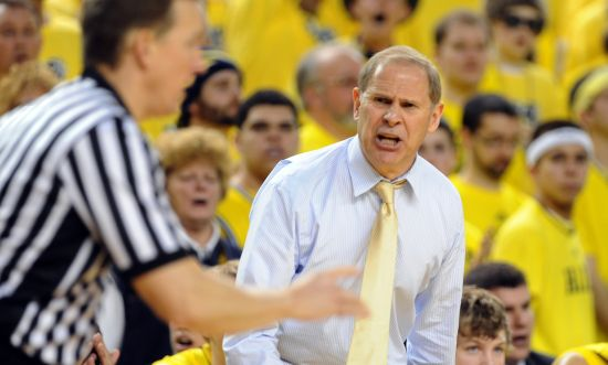 John Beilein and Michigan are competing for a conference championship this season and appear to have an advantage next year with the release of the 2014-15 B1G schedule. (Lon Horwedel/AnnArbor.com)