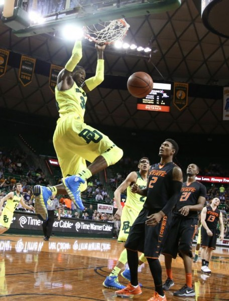 With a thin Oklahoma State front line, Baylor big men Corey Jefferson and Isaiah Austin proved too much inside.