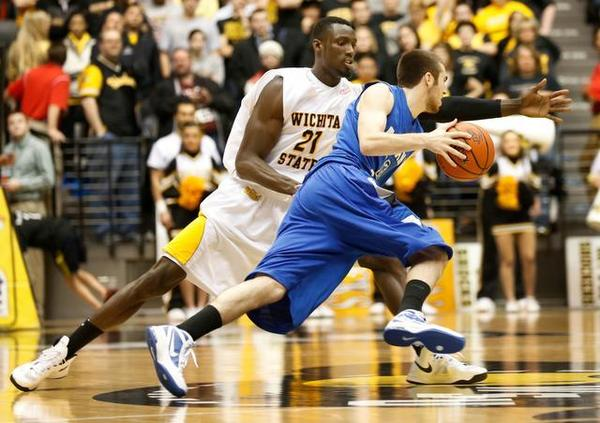 Jake Odum and the Sycamores should give Wichita State a fight this time around. (Fernando Salazar/ The Wichita Eagle)
