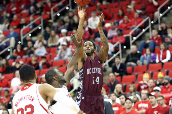 Jeremy Ingram and the NCCU Eagles deserve some love. (NAM Y. HUH — AP)