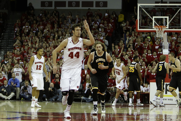 Frank Kaminsky is the fifth best player in the Big Ten.