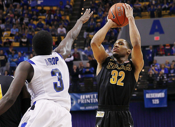 Wichita State could get challenged by Indiana State. (Michael Hickey/Getty Images)