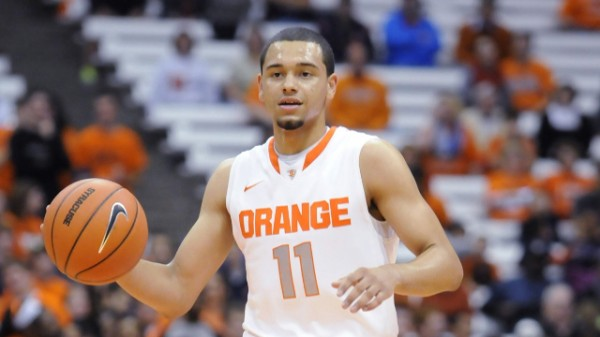 Freshman Point Guard Tyler Ennis Leads Top Ranked Syracuse. (Photo: Mark Konezny - USA TODAY)