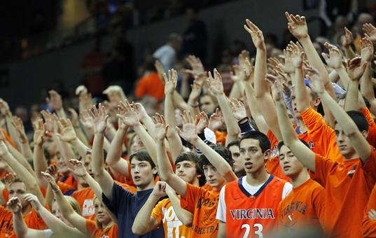 Virginia will be counting on a raucous home atmosphere to secure its first ACC title since the '80's (usatoday.net)