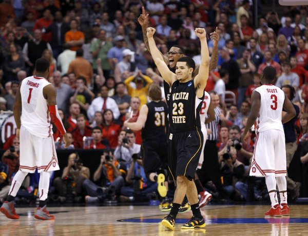 Fred Van Vleet (23) and the Wichita State Shockers are a top-10 team in 2014-15.