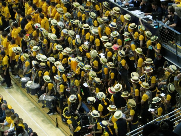 The Cal Band And Student Section Were Justifiably Annoying Early In Wednesday Night's Game