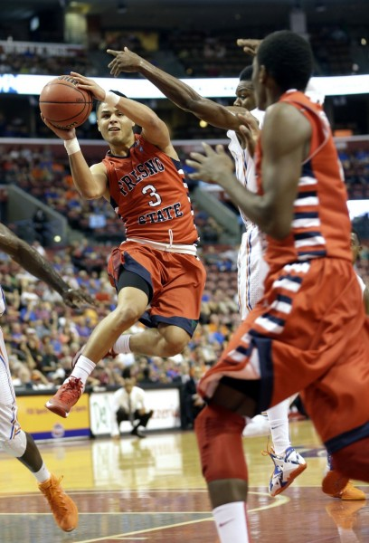 Behind Point Guard Cezar Guerrero, Fresno State Had A Strong Week (Alan Diaz, AP Photo)