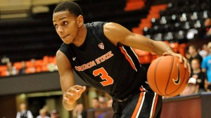 Hallice Cooke Has Emerged As Oregon State's Second-Best Offensive Threat (Dave Nishitani/Oregon State Athletics)