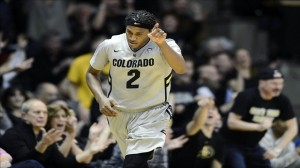 Sophomore Forward Xavier Johnson Averaged 23.5 PPG And Propelled Colorado To A Weekend Sweep (credit: Ron Chenoy)