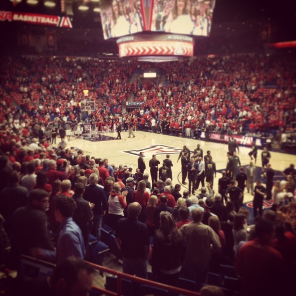 There's No Doubt About It -- Arizona's McKale Center Is One Of College Hoops' Grandest Stages