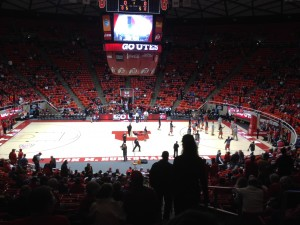 The Young Utes Have Yet To Fully Arrive, But The Huntsman Center Offered One Of The Best Atmospheres This Trip Has Seen