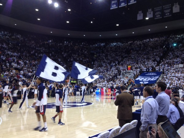 BYU's Marriott Center Has Long Been Considered An Unwelcoming Locale For Visitors, But Could It Still Be Underrated? I Vote Yes.