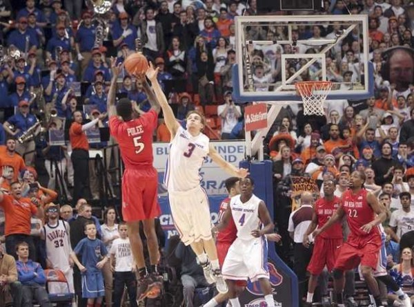 A Dagger Of A Three From Dwayne Polee Leaves Boise State In Dire Straits (Darin Oswald, Idaho Statesman)