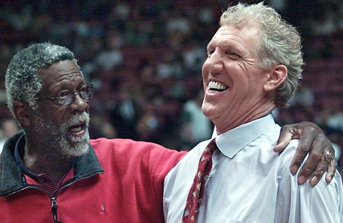 During Wednesday Night's Broadcast, Bill Walton Got To Sing the Praises Of Birthday-Boy Bill Russell