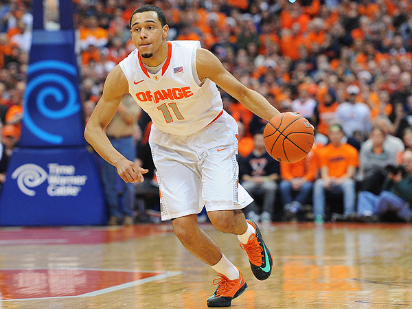 Tyler Ennis and Syracuse looked sharp against Western Michigan on Thursday (AP)