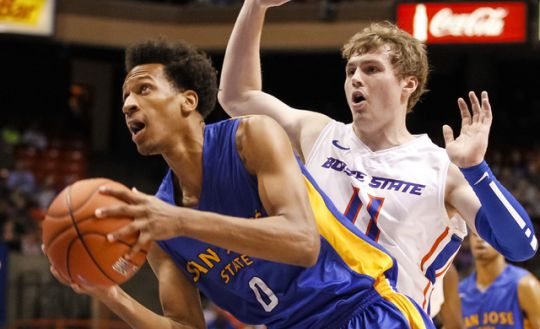 Despite the outstanding play of Rashad Muhammad, there is a chance that San Jose State might not get off the schnide this year. (AP)