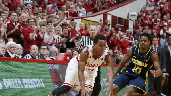 Yogi Ferrell spearheaded another big home court win against Michigan. (Brian Spurlock, USAT)