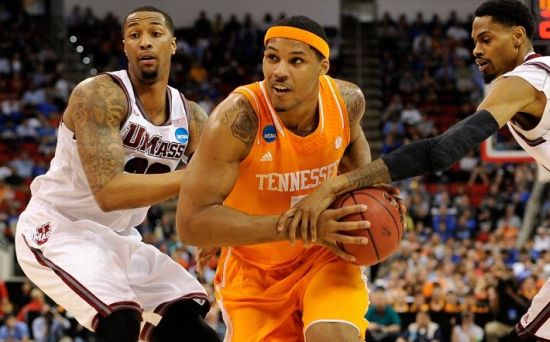 Tennessee's Jarnell Stokes Has Been a Dominant Inside Force in the Tournament. (Grant Halverson/Getty Images)