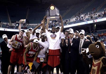 Maryland's Last of Three ACC Tournament Titles Was Won in 2004  in Greensboro. (Photo: University of Maryland)