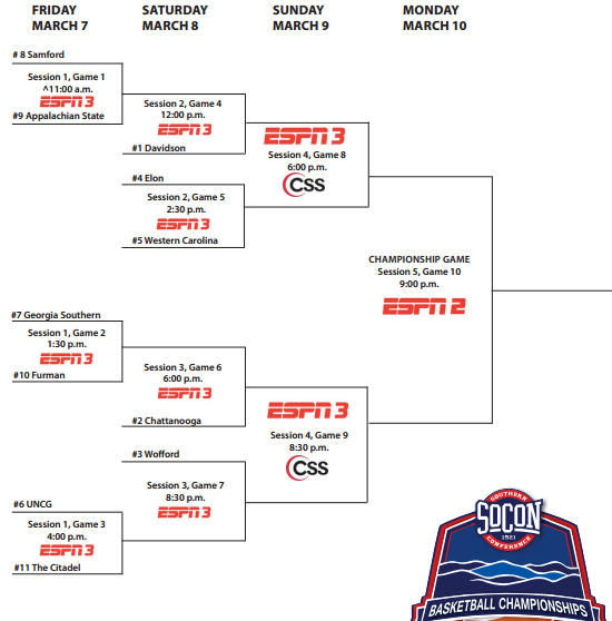 2014 socon bracket