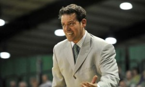 Manhattan head coach Steve Masiello has emerged as a leading candidate for the USF job. (NY Daily News)