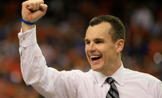 As usual, Billy Donovan has his Gators right in the thick of the title chase. (Getty)