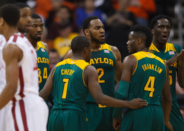 Kenny Chery facilitated an efficient Baylor offense as the Bears outshot Oklahoma (baylorbears.com).