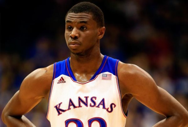 Andrew Wiggins is heating up at the right time for Kansas (sportschump.net).