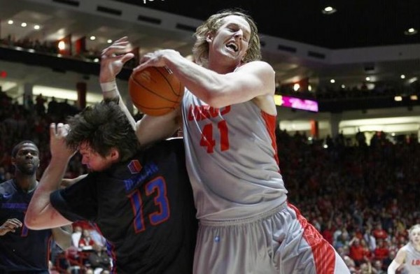 Cameron Bairstow outworked his Mountain West opponents all season long. (Getty Images)