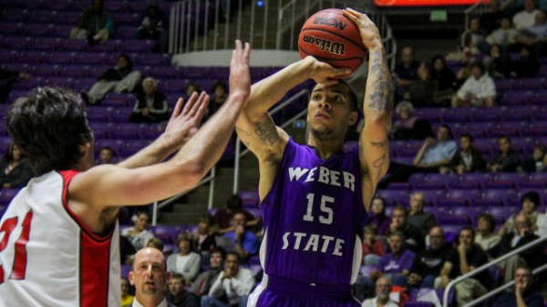 Davion Berry and Weber State finally edged Montana and won the Big Sky. (Photo by Weber State)