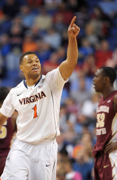 Justin Anderson is Virginia's spark plug. (credit: Scott Muthersbaugh / Burlington Times-News)