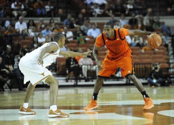 Mercer's Langston Hall proved himself early this season against Texas (photo: Brendan Maloney USA Today Sports)