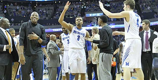 Chris Crawford and his Memphis teammates had a lot to celebrate on Saturday.