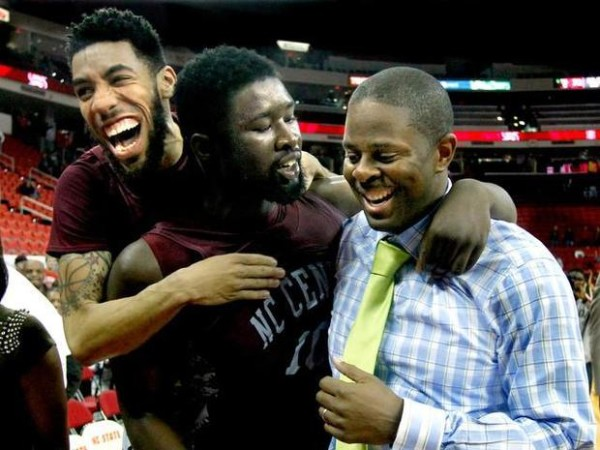 North Carolina Central is headed to the NCAA Tournament for the first time ever. (ETHAN HYMAN/News Observer)