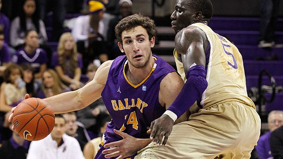 For the second straight season, Albany surprised the America East and is going dancing. (AP Photo/Elaine Thompson)