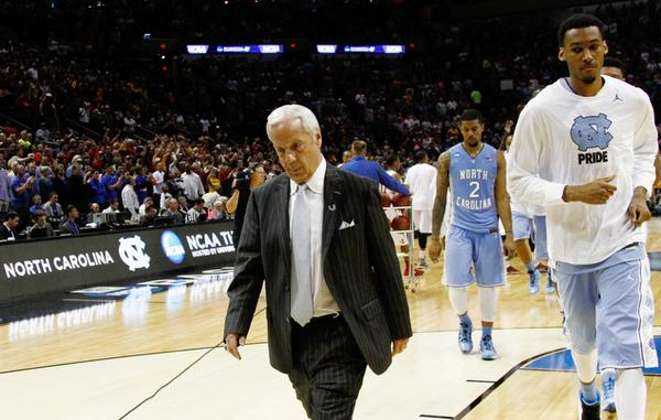 Roy Williams was understandably deflated after bizarre finish. (credit: Christine Nguyen / Durham Herald Sun)
