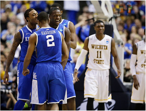 Kentucky and Wichita State came together in an instant classic (AP/Jeff Roberson).