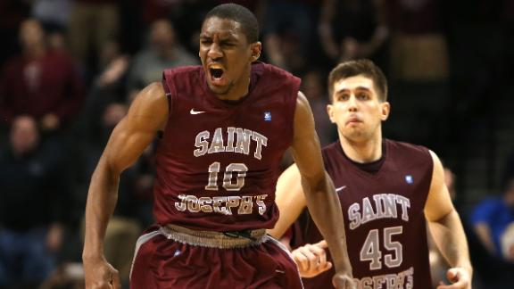 Saint Joseph's returns to the NCAA Tournament for the first time since 2008. (Associated Press)