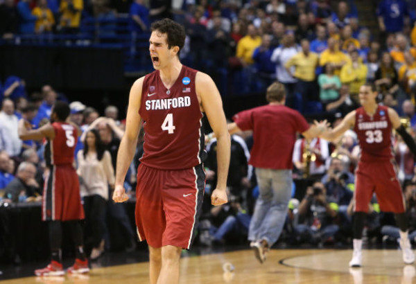 Contending with Stanford's size is a tall task for Dayton. (Photo by Chris Lee)